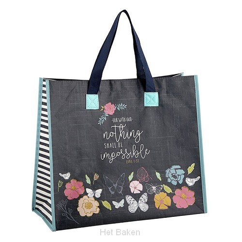 Totebag nothing shall be