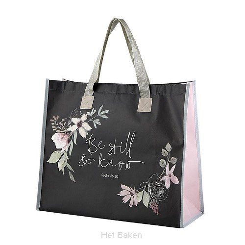 Tote Bag Be still and know