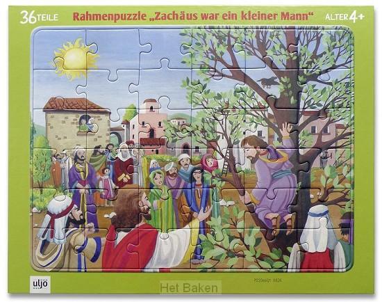 Vensterpuzzel Zacheüs 36 stukjes 4 jaar