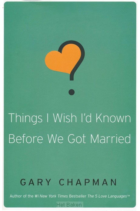 THINGS I WISH I'D KNOWN BEFORE WE GOT MA