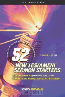 52 NEW TEST. SERMON STARTERS - 3