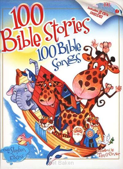 100 BIBLE STORIES & 2CD'S