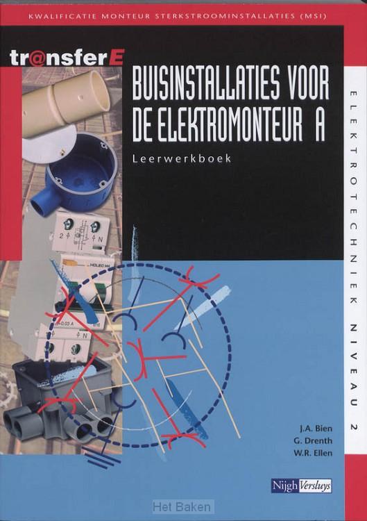 A / Buisinstallaties voor de elektromont