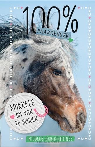 100% Paardengek spikkels om van te houd