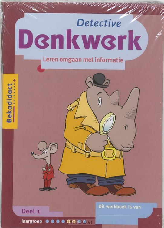 1 / Detective Denkwerk set 5 ex / Werkbo