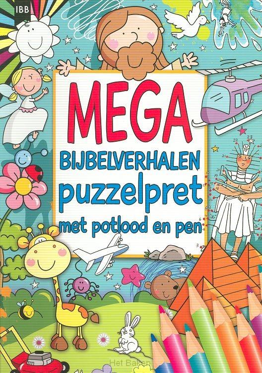 Mega bijbelverhalen puzzelpret