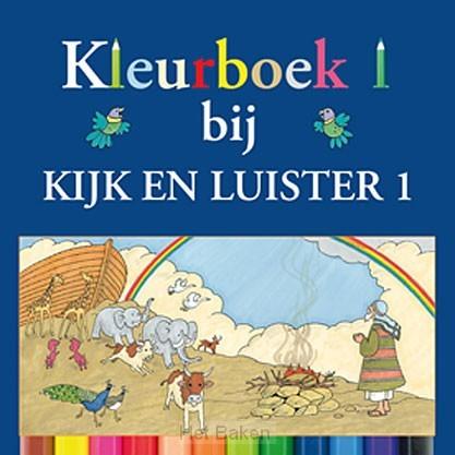 Kijk en luister 1 kleurboek