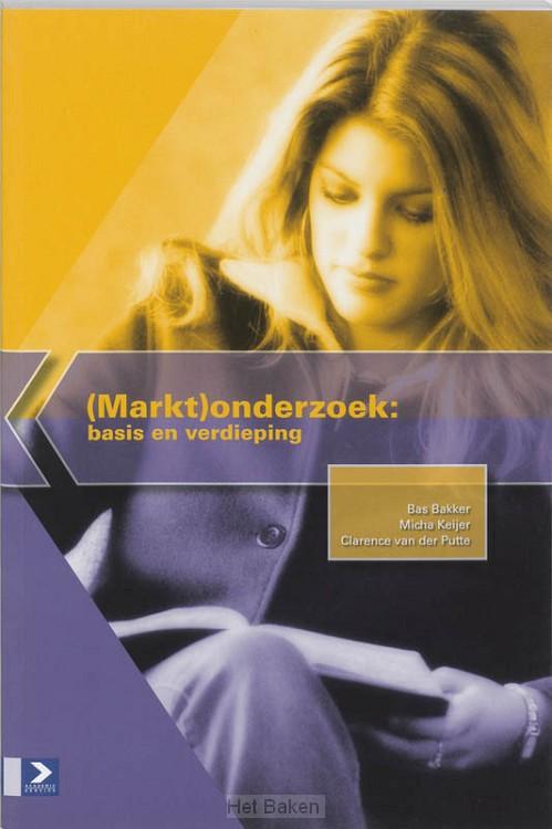 (MARKT) ONDERZOEK / BASIS EN VERDIEPING