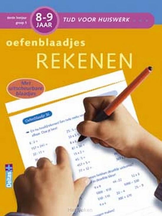 Tijd voor huiswerk / 8-9 jaar Oefenblaad