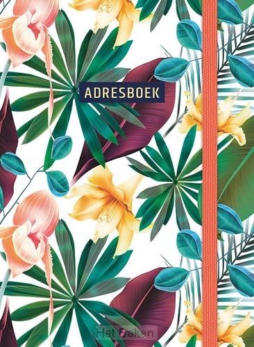 Adresboek (klein) - Tropical