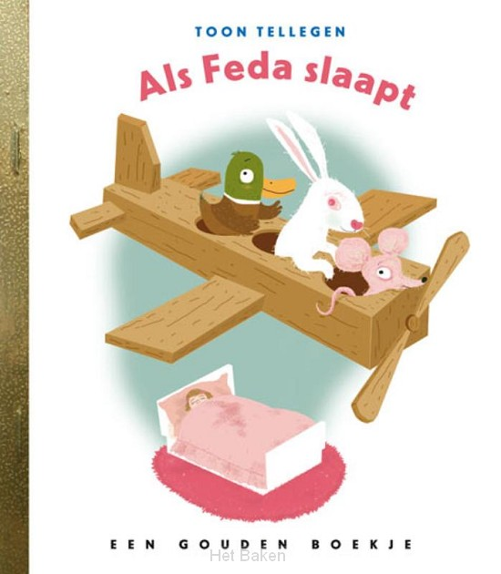 Als Feda slaapt