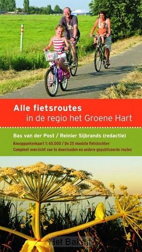 Alle fietsroutes in de regio het Groene