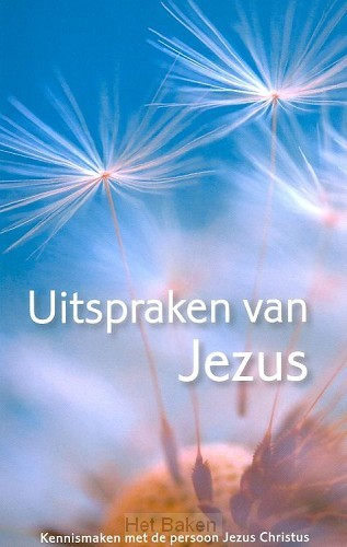 UITSPRAKEN VAN JEZUS