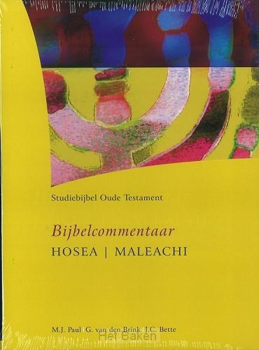 BIJBELCOMMENTAAR HOSEA/MALEACHI