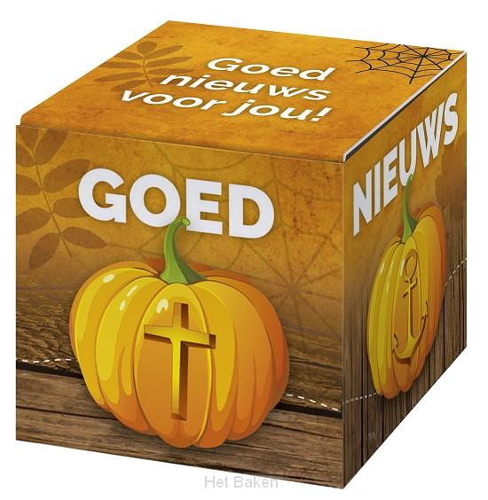 Kadoosje goed nieuws voor jou (halloween