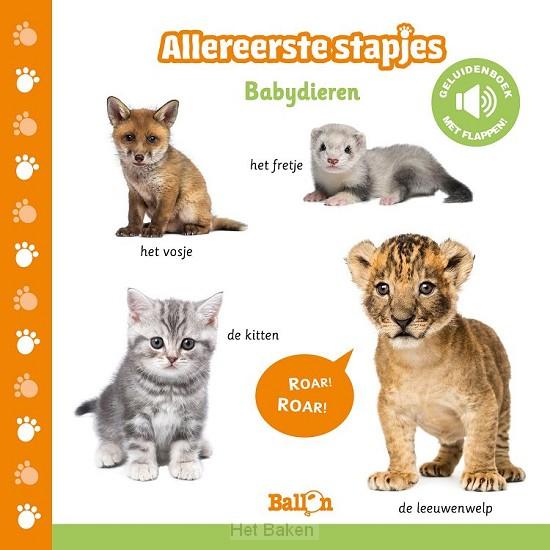 Allereerste stapjes babydieren