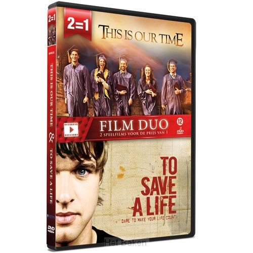 FILM DUO THIS IS OUR TIME/  SAVE A LIVE