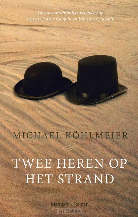 Twee heren op het strand