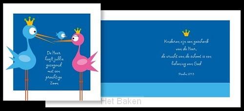 ADAJA CARDS GEBOORTE ZOON