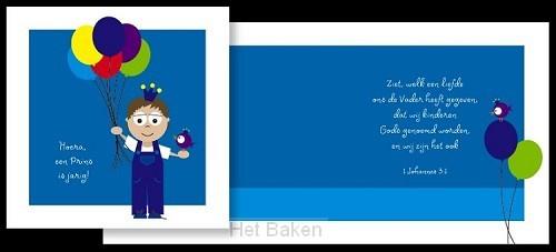 ADAJA CARDS PRINS JARIG