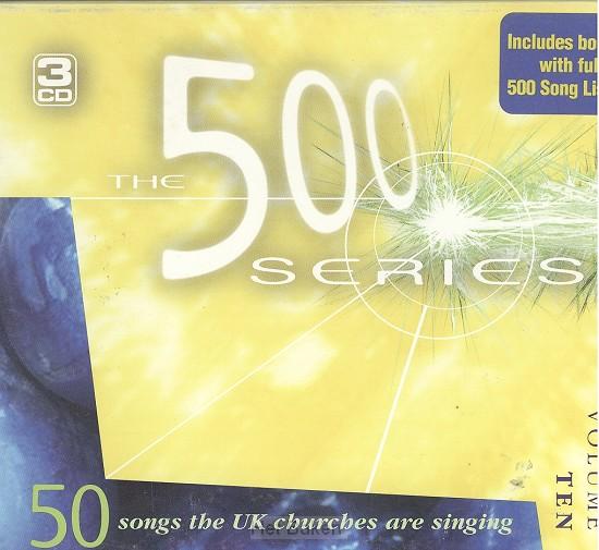 500 SERIES- VOL 10 -3CD