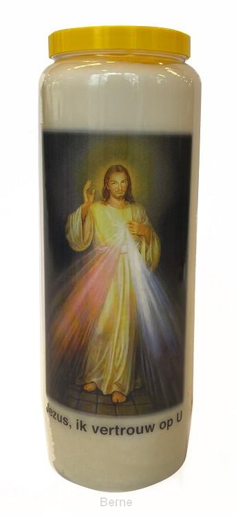 NOVEENKAARS JEZUS, IK VERTROUW OP U