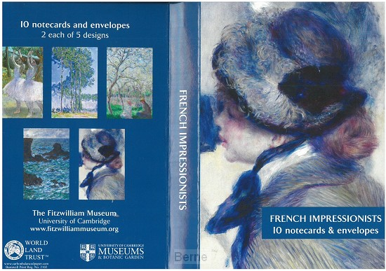 Kaartenmapje French impressionists