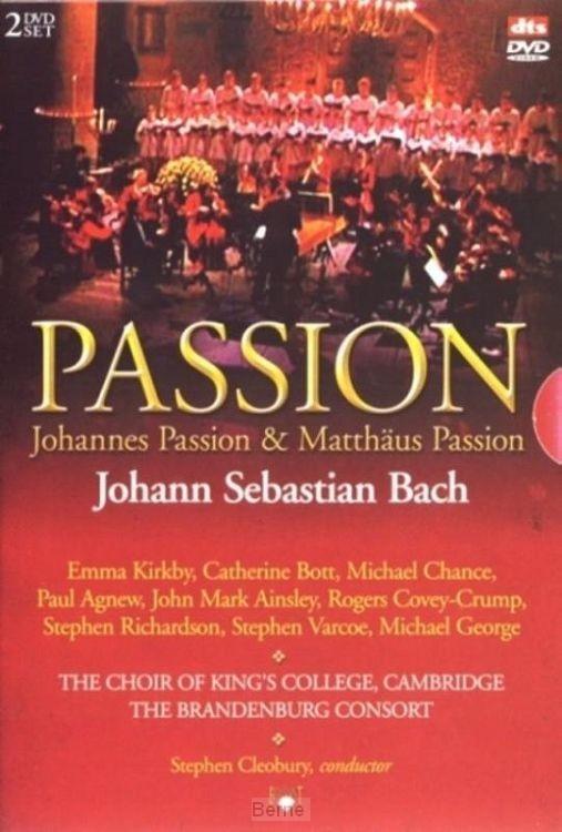 Johann Sebastian Bach  -  Matthaus Passion / Johannes Passion (2 dvd)