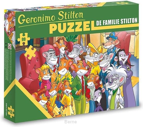 Puzzel - De familie Stilton