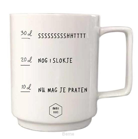 Koffiemok Nu mag je praten