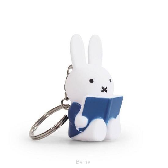 nijntje leest sleutelhanger blauw 6x