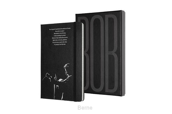 Moleskine LE Notitieboek Bob Dylan Large (13x21 cm) Gelinieerd Collectors Edition