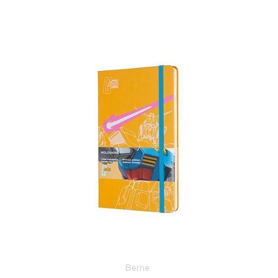 Moleskine LE Notitieboek Gundam Large (13x21 cm) Gelinieerd Yellow
