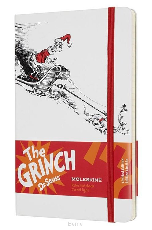 Moleskine LE Notitieboek Dr. Seuss Notebook Large (13x21 cm) Gelinieerd Wit