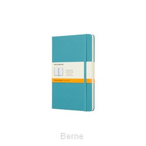 Notebook Large Ruled Hard Cover Reef Blue