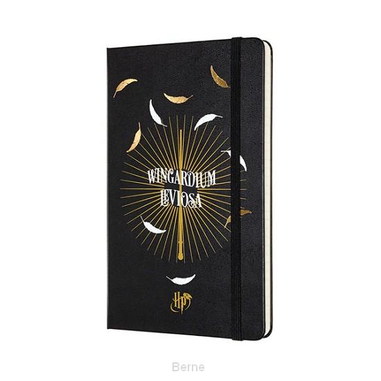 Moleskine LE Harry Potter Notebook Large Ruled Leviosa