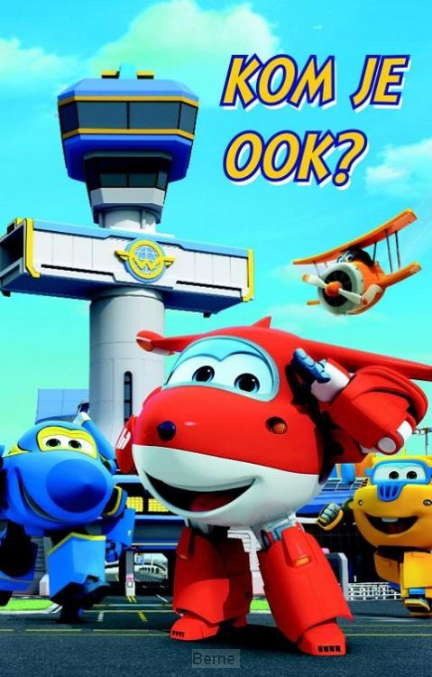 SUPERWINGS UITNODIGING PK 859 / 6X3,95