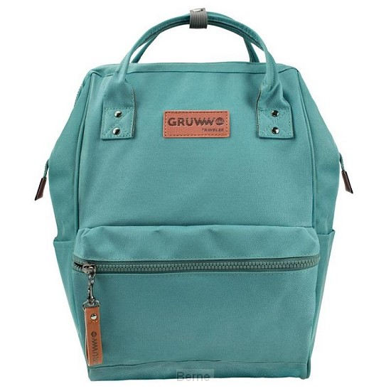 Unique Laptop backpack Arctic green