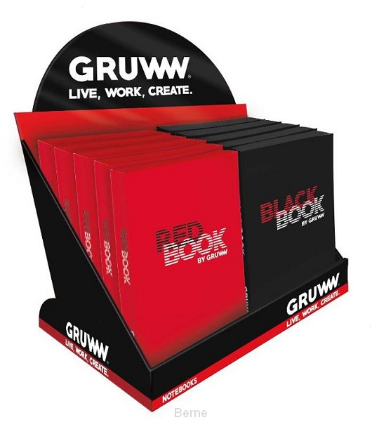 NOTEBOOKS IN DISPLAY GRUWW DISPLAY 2T X