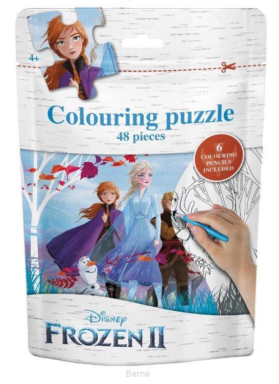 Frozen II  Puzzel bag  (Groep)