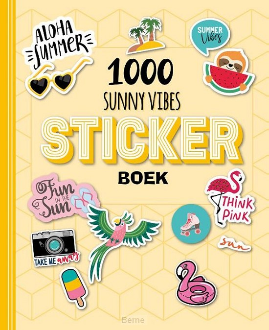 Stickerboek - 1000 Sunny Vibes