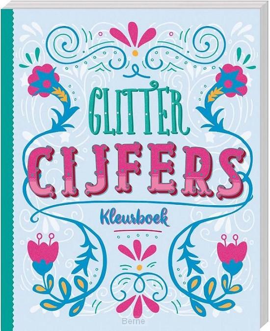 Glitterkleurboek - Cijfers