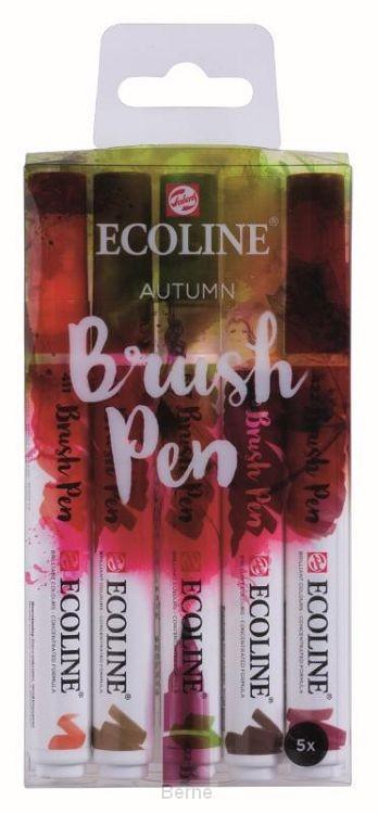 Talens Ecoline 5 brush pens 'Autumn'