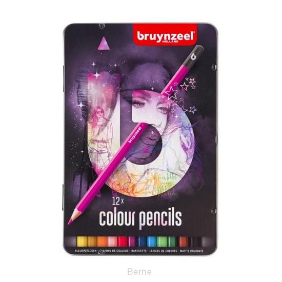 Bruynzeel Teens 12 kleurpotloden (licht)