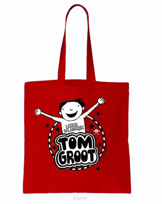Tom Groot linnen tasjes (25 exx.)