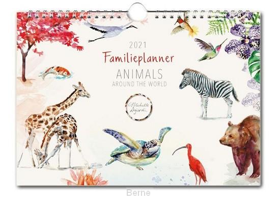 Michelle Dujardin, Animals, familie planner 2021