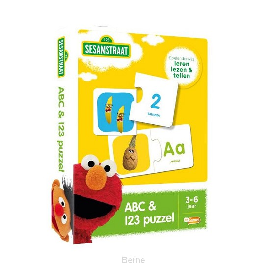Sesamstraat ABC- en 123 puzzel