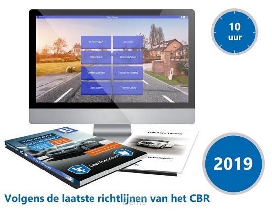 Auto Theorieboek Rijbewijs B 2019 met 10 uur online Examentraining  en Samenvatting