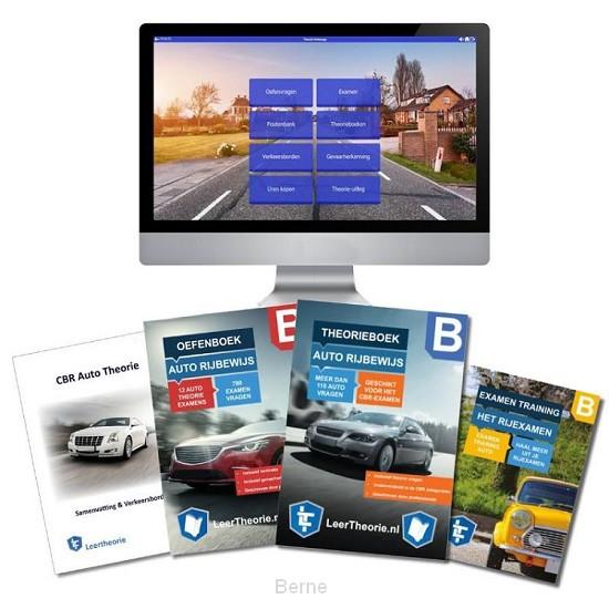 AutoTheorieboek Rijbewijs B Deluxe Compleet Geslaagd