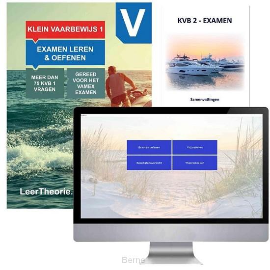 Vaarbewijs Cursusboek met Online en een KVB 1 samenvatting - KleinVaarbewijs 1 Theorieboek - Recreatievaartexamen 1